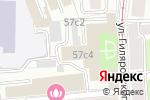 Схема проезда до компании BeardWay в Москве