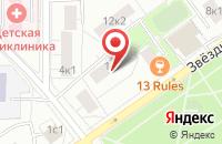 Схема проезда до компании Дизайн-Бюро «План» в Москве