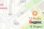 Схема проезда до компании Сюжет в Москве