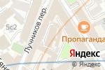 Схема проезда до компании Tutbatut.ru в Москве