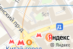Схема проезда до компании Гео-Тур в Москве