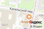 Схема проезда до компании Макомнет в Москве