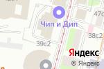 Схема проезда до компании Мещанский парк в Москве