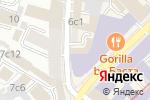 Схема проезда до компании Московско-Парижский банк в Москве