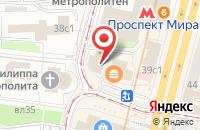 Схема проезда до компании Эй-Би-Эй в Москве