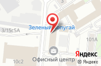 Схема проезда до компании Нью Дает в Москве
