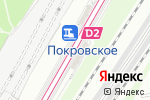 Схема проезда до компании Arendav.taxi в Москве