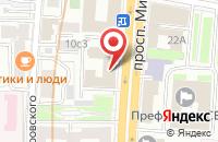 Схема проезда до компании Останкино в Химках