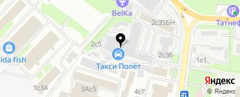 СовАвто на карте Москвы