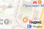 Схема проезда до компании Астинг в Москве