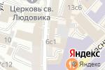 Схема проезда до компании Бизнес-класс-аудит в Москве