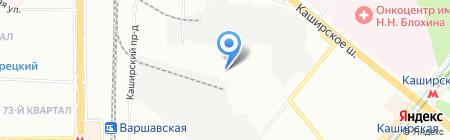 Нико на карте Москвы