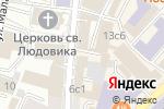 Схема проезда до компании Дельта-Инкасс в Москве