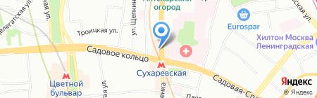 AlterGeo.ru на карте Москвы