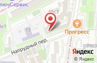 Схема проезда до компании Скайлайн Рус в Москве