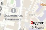 Схема проезда до компании TG Office furniture в Москве