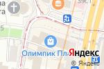 Схема проезда до компании Олимпик Плаза в Москве