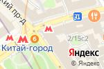 Схема проезда до компании Игровед в Москве