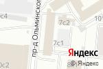 Схема проезда до компании Русский Запад в Москве