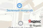 Схема проезда до компании ТеплоФокс в Москве