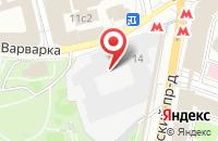 Схема проезда до компании Стсервис в Москве