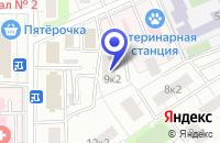 Схема проезда до компании ПРОЕКТНОЕ ПРЕДПРИЯТИЕ МСК-ГРАД в Москве