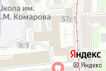 Схема проезда до компании Монолит-Брокеридж в Москве