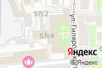 Схема проезда до компании Hold Estate в Москве