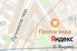 Схема проезда до компании Твой Маршрут в Москве