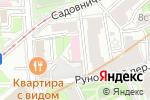 Схема проезда до компании РУССО-ТУРИСТО в Москве