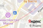 Схема проезда до компании Кливия в Москве