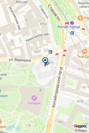 БЮРО ПЕРЕВОДОВ АДВЕНТ ТРАНСЛЭЙШН на карте Москвы