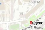 Схема проезда до компании Sanforus в Москве