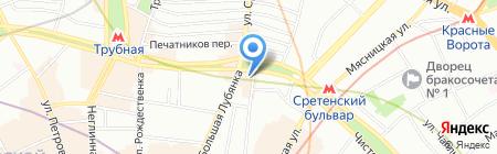 Паста и Баста на карте Москвы