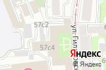 Схема проезда до компании Все визы в Москве
