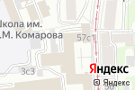 Схема проезда до компании БАРС ТЕХНОЛОДЖИС в Москве