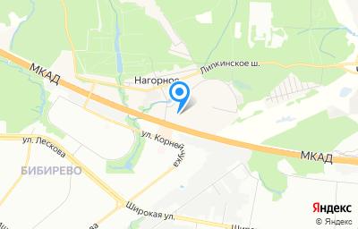 Местоположение на карте пункта техосмотра по адресу Московская обл, г Мытищи, п Нагорное, ул Центральная, влд 2
