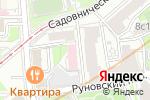 Схема проезда до компании АСП Групп в Москве