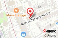 Схема проезда до компании Инфоград в Москве