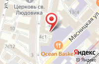 Схема проезда до компании Поликор в Москве