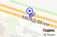 Схема проезда до компании ТД ONLY в Москве