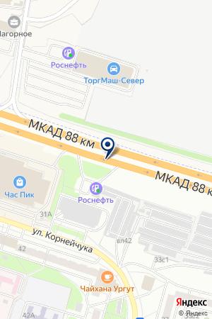 МАГАЗИН НИЖНЕГО БЕЛЬЯ БЮСТЬЕ на карте Москвы