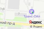 Схема проезда до компании Мосстроймеханизация-5 в Москве