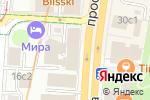 Схема проезда до компании Государственная жилищная инспекция г. Москвы в Москве