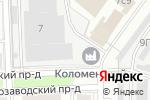 Схема проезда до компании Служба пассажирских перевозок в Москве