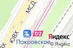 Схема проезда до компании Покровская в Москве