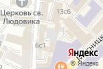 Схема проезда до компании Энерго Синтез в Москве