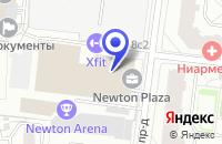 Схема проезда до компании ПРОИЗВОДСТВЕННАЯ ФИРМА ТКВС в Москве