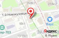 Схема проезда до компании Гротеск-Студия в Москве