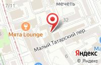 Схема проезда до компании Рс-Мос в Москве